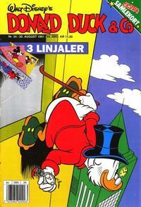 Cover Thumbnail for Donald Duck & Co (Hjemmet / Egmont, 1948 series) #34/1991