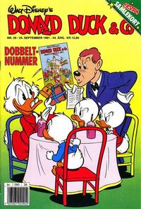 Cover Thumbnail for Donald Duck & Co (Hjemmet / Egmont, 1948 series) #39/1991