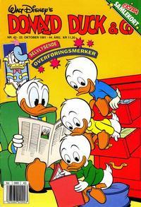 Cover Thumbnail for Donald Duck & Co (Hjemmet / Egmont, 1948 series) #43/1991