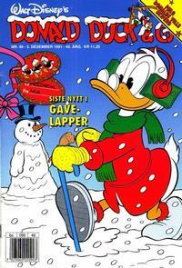 Cover Thumbnail for Donald Duck & Co (Hjemmet / Egmont, 1948 series) #49/1991