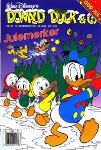 Cover Thumbnail for Donald Duck & Co (Hjemmet / Egmont, 1948 series) #51/1991