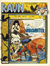 Cover for Ravn (Bladkompaniet / Schibsted, 1984 series) #2/1984