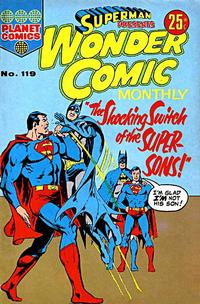 Cover Thumbnail for Superman Presents Wonder Comic Monthly (K. G. Murray, 1965 ? series) #119