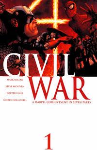 Cover Thumbnail for Civil War (Marvel, 2006 series) #1 [Standard Cover]