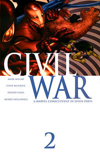 Cover Thumbnail for Civil War (Marvel, 2006 series) #2 [Standard Cover]