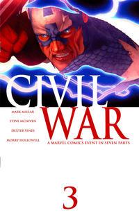 Cover Thumbnail for Civil War (Marvel, 2006 series) #3 [Standard Cover]