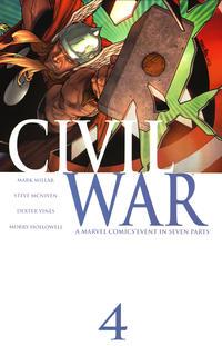 Cover Thumbnail for Civil War (Marvel, 2006 series) #4 [Standard Cover]