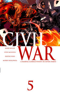Cover Thumbnail for Civil War (Marvel, 2006 series) #5 [Standard Cover]