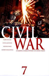 Cover Thumbnail for Civil War (Marvel, 2006 series) #7 [Standard Cover]