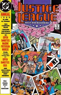 Cover Thumbnail for Justice League Annual (DC, 1987 series) #3 [Direct]