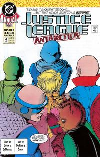 Cover Thumbnail for Justice League Annual (DC, 1987 series) #4 [Direct]