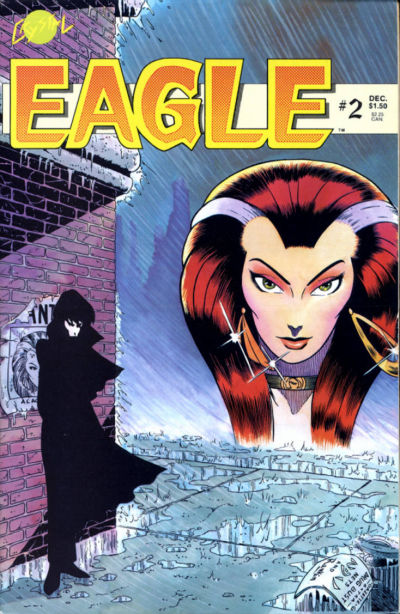 Cover for Eagle (Crystal Publications, 1986 series) #2