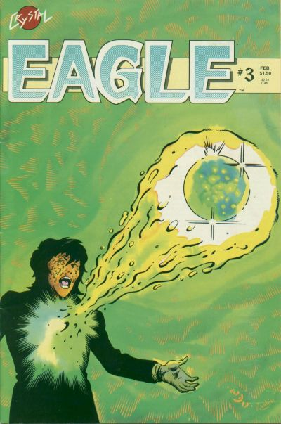 Cover for Eagle (Crystal Publications, 1986 series) #3