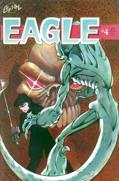 Cover for Eagle (Crystal Publications, 1986 series) #4