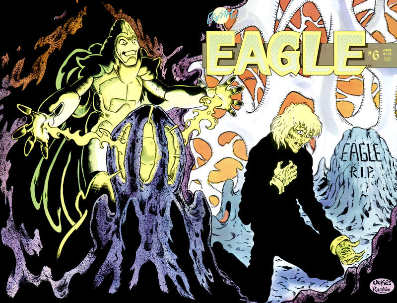 Cover for Eagle (Crystal Publications, 1986 series) #6