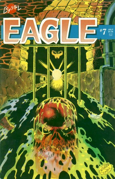 Cover for Eagle (Crystal Publications, 1986 series) #7
