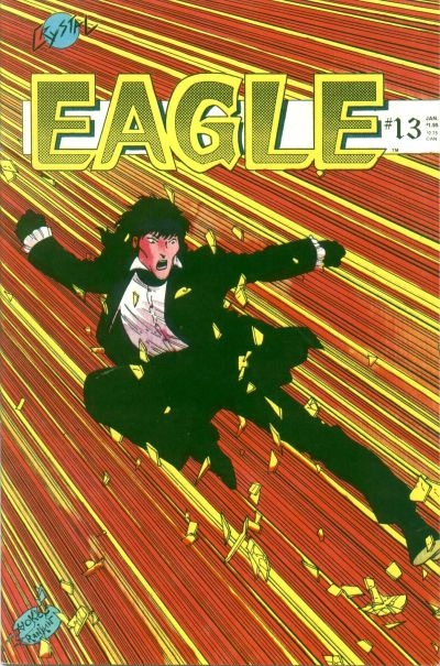 Cover for Eagle (Crystal Publications, 1986 series) #13