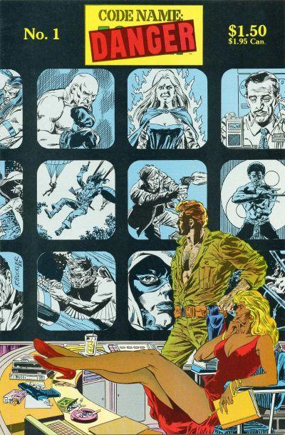 Cover for Codename: Danger (Lodestone, 1985 series) #1