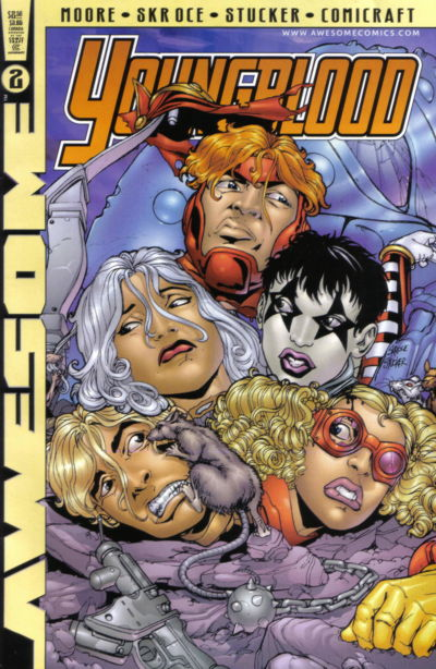 Cover for Youngblood (Awesome, 1998 series) #2