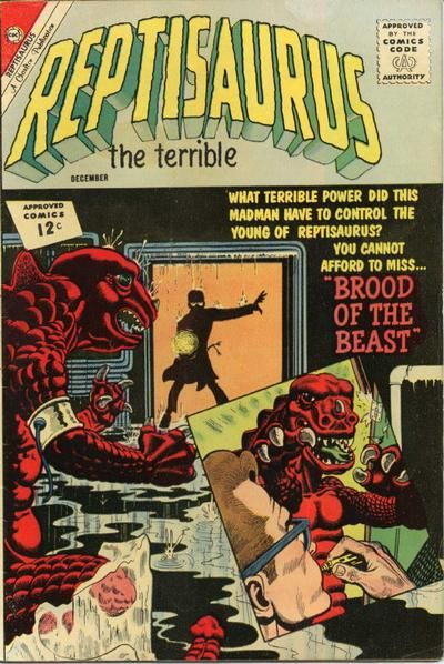 Cover for Reptisaurus (Charlton, 1962 series) #8