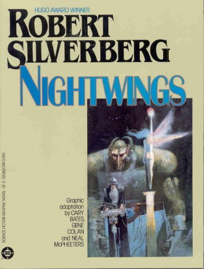 Cover for Science Fiction Graphic Novel (DC, 1985 series) #SF 2 - Nightwings