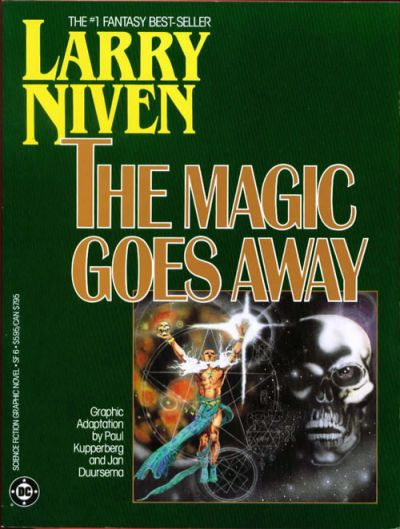 Cover for Science Fiction Graphic Novel (DC, 1985 series) #SF 6 - The Magic Goes Away