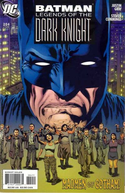 Cover for Batman: Legends of the Dark Knight (DC, 1992 series) #204