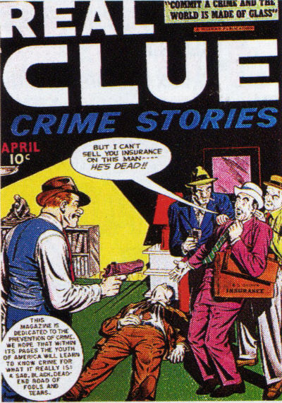 Cover for Real Clue Crime Stories (Hillman, 1947 series) #v3#2 [26]