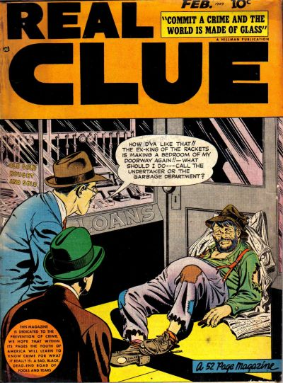 Cover for Real Clue Crime Stories (Hillman, 1947 series) #v3#12 [36]