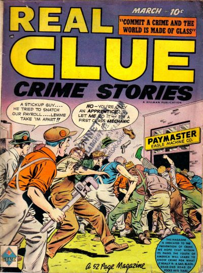 Cover for Real Clue Crime Stories (Hillman, 1947 series) #v4#1 [37]