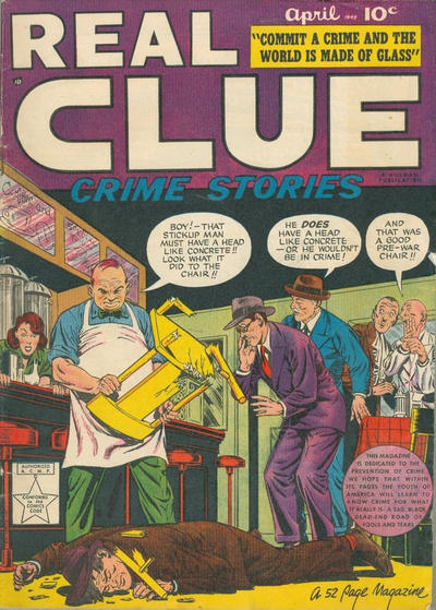 Cover for Real Clue Crime Stories (Hillman, 1947 series) #v4#2 [38]