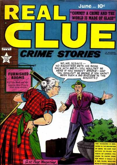 Cover for Real Clue Crime Stories (Hillman, 1947 series) #v4#4 [40]