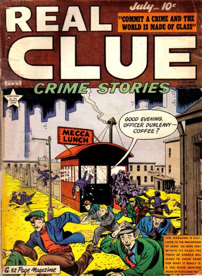 Cover for Real Clue Crime Stories (Hillman, 1947 series) #v4#5 [41]