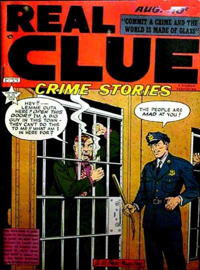 Cover for Real Clue Crime Stories (Hillman, 1947 series) #v4#6 [42]