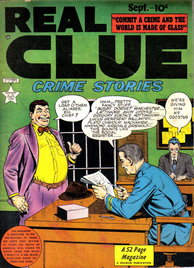 Cover for Real Clue Crime Stories (Hillman, 1947 series) #v4#7 [43]