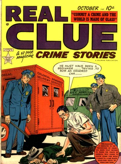 Cover for Real Clue Crime Stories (Hillman, 1947 series) #v4#8 [44]