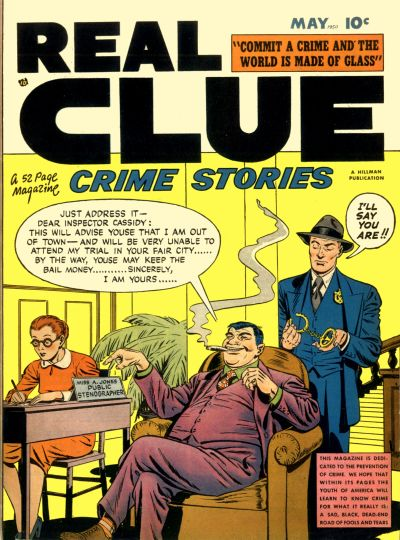Cover for Real Clue Crime Stories (Hillman, 1947 series) #v5#3 [51]