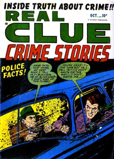 Cover for Real Clue Crime Stories (Hillman, 1947 series) #v5#8 [56]