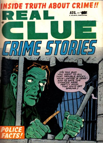 Cover for Real Clue Crime Stories (Hillman, 1947 series) #v6#6 [66]