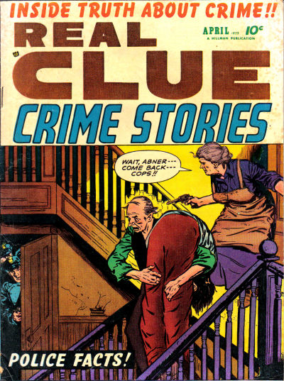 Cover for Real Clue Crime Stories (Hillman, 1947 series) #v7#2 [74]