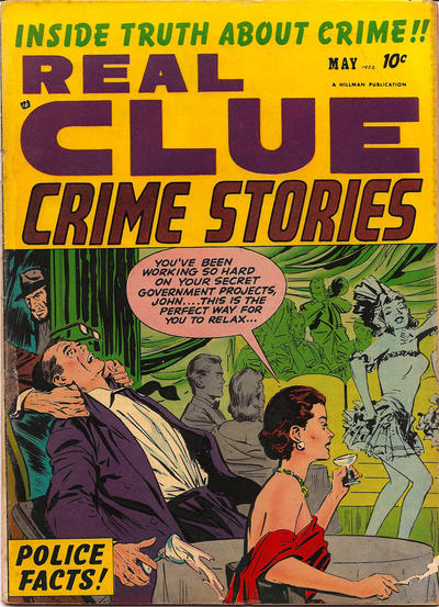 Cover for Real Clue Crime Stories (Hillman, 1947 series) #v7#3 [75]