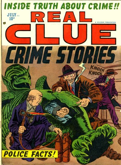 Cover for Real Clue Crime Stories (Hillman, 1947 series) #v7#5 [77]