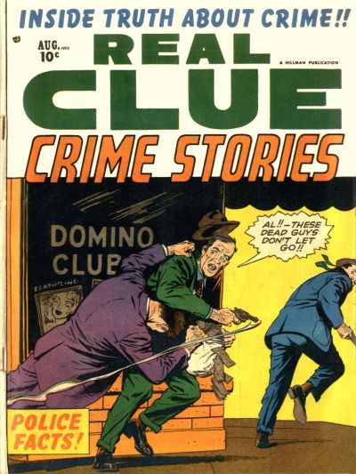 Cover for Real Clue Crime Stories (Hillman, 1947 series) #v7#6 [78]