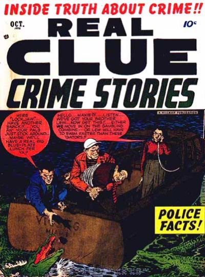 Cover for Real Clue Crime Stories (Hillman, 1947 series) #v7#8 [80]