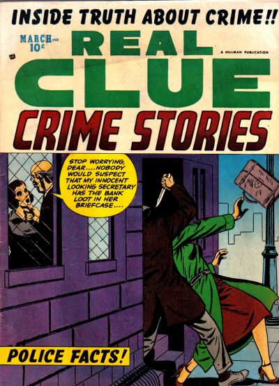 Cover for Real Clue Crime Stories (Hillman, 1947 series) #v8#1 [85]