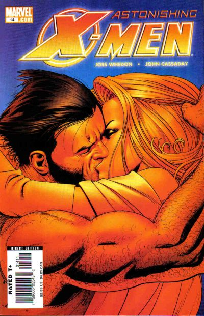 Cover for Astonishing X-Men (Marvel, 2004 series) #14 [Direct Edition]