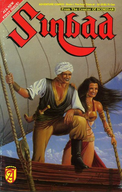 Cover for Sinbad (Malibu, 1989 series) #1