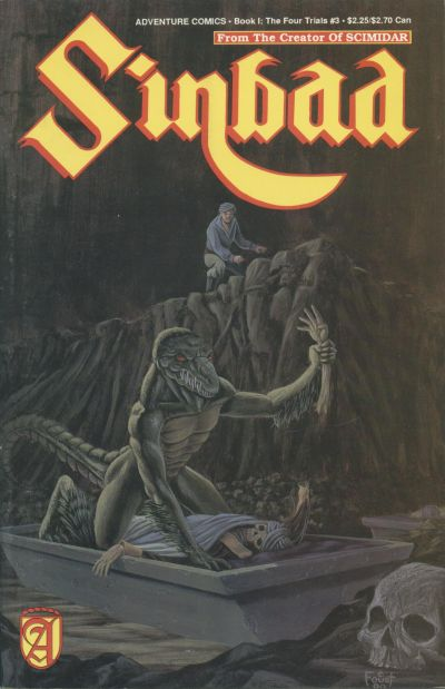 Cover for Sinbad (Malibu, 1989 series) #3