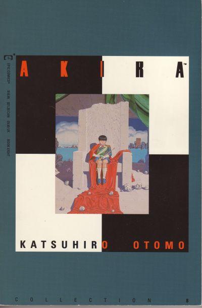 Cover for Akira (Marvel, 1990 series) #8
