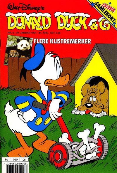 Cover for Donald Duck & Co (Hjemmet / Egmont, 1948 series) #5/1991